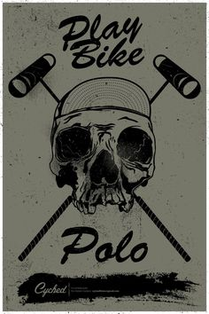Image result for bike polo poster