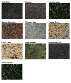 166 Best Granite Samples Images Granite Kitchen Granite Stone