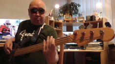 Backing Track E Minor Funky & Groovy Blues HD720 m2 Basscover Bob Roha