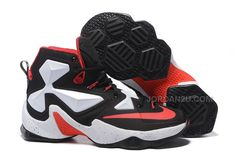 http://www.jordan2u.com/nike-lebron-13-white-black-red.html Only$66.00 #NIKE #LEBRON 13 WHITE BLACK RED Free Shipping!