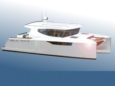 Yacht Boat For Sale, Power Catamaran, Boat Projects, Cats For Sale, Sport Fishing, Boat Design, Power Boats, New Builds, Sailing
