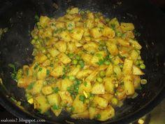 Recepty z Indie: Aloo Matar
