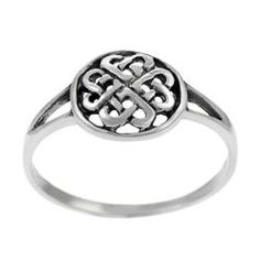 @Overstock - Click here for Ring Sizing ChartCeltic knot ringSterling silver jewelryhttp://www.overstock.com/Jewelry-Watches/Tressa-Sterling-Silver-Round-Celtic-Knot-Ring/4852231/product.html?CID=214117 $17.42