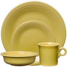 Fiesta® Dinnerware Collection in Sunflower - BedBathandBeyond.ca