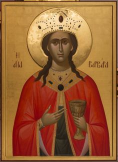 Αγία Βαρβάρα / Saint Barbara Saint Barbara, Byzantine Icons, Orthodox Icons, Saints, Female, Movie Posters, Art, Religion, Women