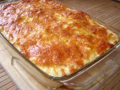 Sufleu de conopida si pui (Monti), poza 1 Low Carb Recipes, Cooking Recipes, Healthy Recipes, Good Food, Yummy Food, Romanian Food, Desert Recipes, I Foods, Carne