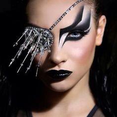 <3<3<3 breathtaking makeup by Hagai Avdar