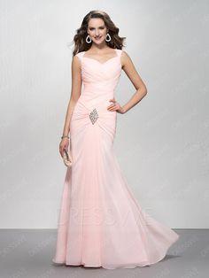 #Valentines #AdoreWe #DressWe - #DressWe Trumpet Sequins Straps Zipper-Up Prom Dress - AdoreWe.com