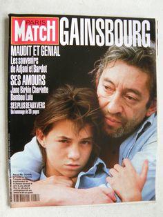Charlotte Gainsbourg et Serge Gainsbourg