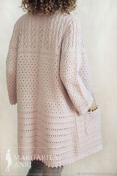 Image Article – Page 593982638334162080 Knitting Daily, Knitting Stitches, Knitting Designs, Knitting Patterns, Crochet Cardigan Pattern, Crochet Videos, Crochet Fashion, Crochet Clothes, Knitwear