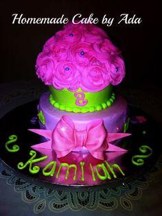 My big cupcake
