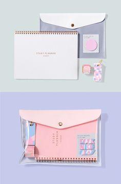 Stationary Supplies, Stationary School, Cute Stationary, School Stationery, Kawaii Stationery, Stationery Items, Korean Stationery, Stationary Design, Menu Design
