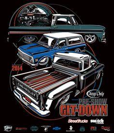 2014 Git-Down by Brian Stupski, via Behance