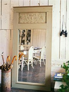 I did this, turns out beautiful and you can completely Taylor it right down to your choice of the type of door used to fit your decor, pick up mirrors cheap at flea markets etc. I made one for 10$  including materials. Lot of times you can acquire materials people are happy to get rid of such as doors and windows laying around for free.. TIP:don't tell em what you plan to do with it or they may keep them after realizing their junk will become a major decor treasure.   DIY mirrored door…