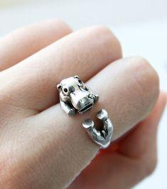 This lovely little ring.