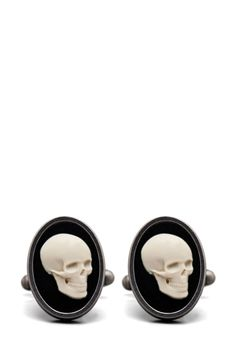 Paul Smith Cameo Skull Cufflink