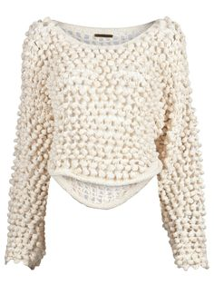 Society for Rrational Dress hand-knit pullover sweater
