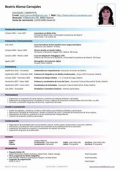 32 Beautiful Como Hacer Un Resume Para Trabajo Curriculum Vitae Simple, Cv Curriculum, Cv Format For Job, Job Resume Format, Resume Summary Examples, Executive Resume Template, Administrative Assistant Resume, Cv Online, Manager Resume