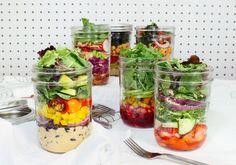 On-the-Go Jar Salads