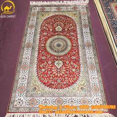 230L 3x5ft Handmade silk carpet in stock No. SP--3X5-13