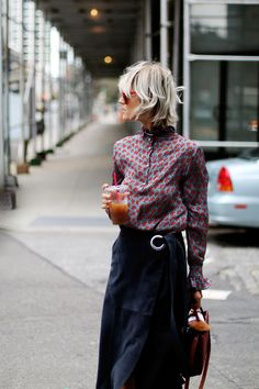 No to the skirt, yes to the shirt