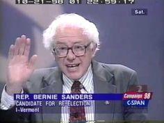 Bernie Sanders Debates Mark Candon (R), 1998 Vermont Congressional Race