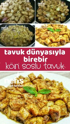 Tavuk Dünyasıyla Birebir Köri Soslu Tavuk – Nefis Yemek Tarifleri How to Make Chicken Recipe with Chicken Curry with One-to-One Sauce? Illustrated explanation of this recipe in the book of people and photographs of those who try here Author: Büşra Güler Chicken Curry Sauce, Salsa Curry, Chicken Pasta Recipes, Recipe Chicken, Turkish Recipes, Crockpot Recipes, Yummy Food, Delicious Recipes, Dinner Recipes