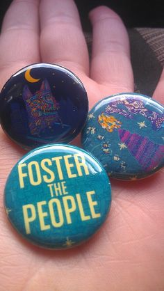 Cute Foster The People Pins!