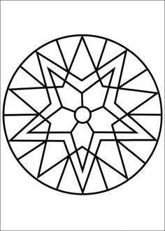 91 Mandalas printable coloring pages for kids. Find on coloring-book thousands of coloring pages. Geometric Coloring Pages, Pattern Coloring Pages, Mandala Coloring Pages, Free Printable Coloring Pages, Colouring Pages, Adult Coloring Pages, Coloring Books, Stained Glass Patterns, Mosaic Patterns