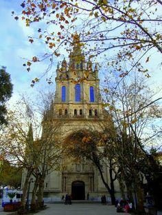 Bilbao - Basilica de Begoña- Begoñako Andra Mariaren Eleiza-  Church of our lady Begoña.  Spain