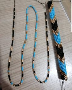 Handmade Jewelry Bracelets, Beaded Jewelry Designs, Necklace Designs, Loom Bracelet Patterns, Bead Loom Bracelets, Bead Crochet Patterns, Bead Crochet Rope, Broomstick Lace, Loom Beading