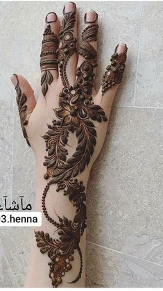 Khafif Mehndi Design, Rose Mehndi Designs, Henna Art Designs, Mehndi Designs 2018, Mehndi Design Pictures, Mehndi Designs For Girls, Dulhan Mehndi Designs, Full Hand Mehndi Designs, Rajasthani Mehndi Designs