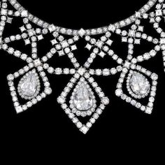 AN IMPRESSIVE DIAMOND NECKLACE, by Cartier, circa 1955