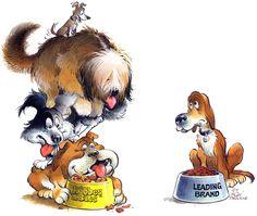 WHICH ONE? Illustrators, Rooster, Cool Art, Cartoon, Artist, Animals, Calamari, Caricatures, Animales