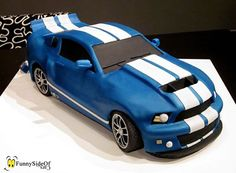10 Awesome Car Themed Cakes That Will Make You Drool