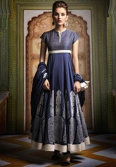 BIBA-by-Rohit-Bal-Embroidered-Blue-Anarkali-Suit-Set-3316-706324-1-product.jpg (277×400)