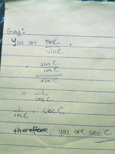 You are sec C