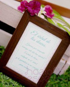 Cartel y etiquetas SHABBY CHIC para el Arbol de por HAZLOESPECIAL
