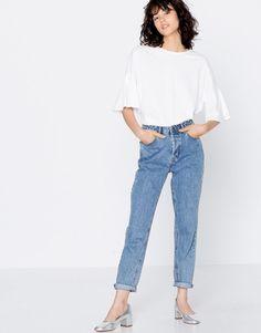 Tees-shirt blanc et large (Pull&Bear - 9,99 euros)