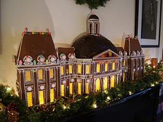 Chateau Vaux Le Vicomte Gingerbread