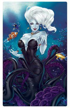 The Little Mermaid - Ursula by Elias Chatzoudis *____®____!!!!