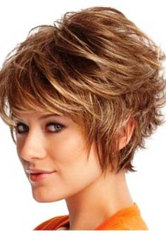 Messy and Wavy Bob Hairstyle Cute Short Hair Cuts for 2014