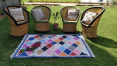 This multi color rugs you can use in your drawing room or in your guest house also its look very charming. And best thing of this rug is that you can floor it on any slippery floor like tile floor, marble floor. Picnic Blanket, Outdoor Blanket, Dhurrie Rugs, Accent Rugs, Handmade Rugs, Earthy, Area Rugs, Weaving, My Etsy Shop