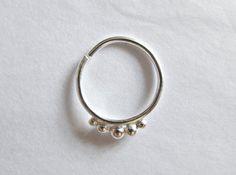 Silver Conch Earring Gold Conch Piercing by WildFawnJewellery