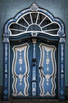 Blue - azul - door - porta - Explore chefhildy's photos on Flickr