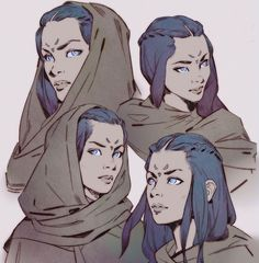Artstation - eyes of ibad, mitch mohrhauser animazione character design, sc Dnd Characters, Fantasy Characters, Eyes Artwork, Drawn Art, Poses References, Image Manga, Character Design Inspiration, Female Character Design, Character Ideas