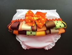 Items similar to Diaper cover with ribbons Fancy pants Bloomers Diaper cover mo size Ribbons and bow diaper cover on Etsy Baby Bloomers, Fancy Pants, Etsy Shop, Trending Outfits, Toys, Fall, Handmade Gifts, Cover, Activity Toys