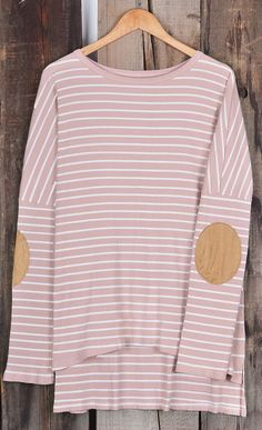 Take this suede top-$22.99 Only with free shipping&easy return! This pink striped classic gonna make you cozy&chic all day long! Cupshe.com offers you more lovely items.