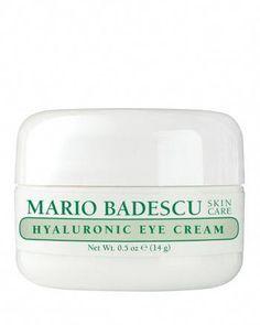 Mario Badescu Hyaluronic Eye Cream #AntiAgingEyeCream Skin Care Regimen, Skin Care Tips, Mario, Face Care Routine, Tanning Cream, Anti Aging Eye Cream, Uneven Skin Tone, Glycolic Acid, Skin Cream