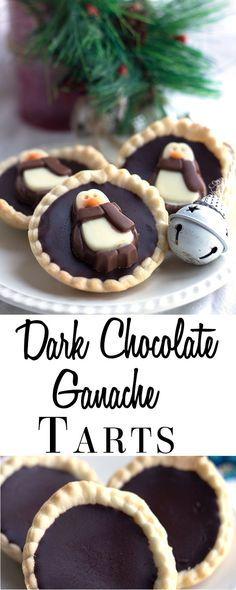 Dark Chocolate Ganache Tarts - Erren's Kitchen